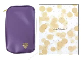 CraftMates: Webster's Pages Color Crush CraftMate Folio Purple