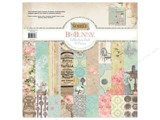 Clearance Bo Bunny Paper Collection Packs: Bo Bunny 12 x 12 in. Collection Pack Soiree