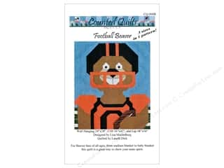 books & patterns: Counted Quilts Football Beaver Quilt Pattern