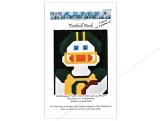 Counted Quilts Football Duck Quilt Pattern
