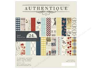 Authentique: Authentique 6 x 6 in. Paper Bundle Homestead