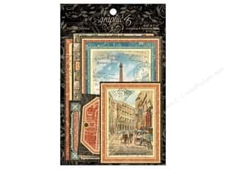 Graphic 45: Graphic 45 Journaling & Ephemera Cards Cityscapes
