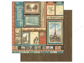 Graphic 45: Graphic 45 12 x 12 in. Paper Cityscapes Global Odyssey (25 sheets)