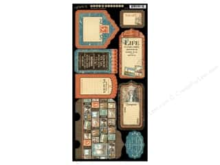 Graphic 45: Graphic 45 Tags & Pockets Cityscapes