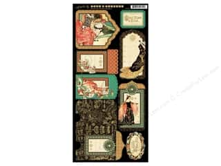 Graphic 45 Tags & Pockets Enchanted Forest