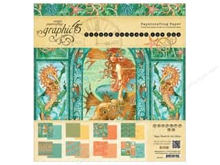 Fall Sale Graphic 45: Graphic 45 12 x 12 in. Paper Pad Voyage Beneath The Sea
