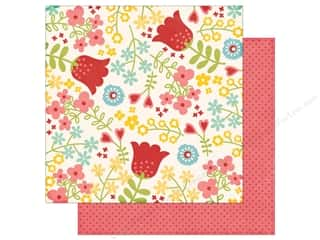 Echo Park 12 x 12 in. Paper Happy Summer Collection Happy Flowers (25 sheets)