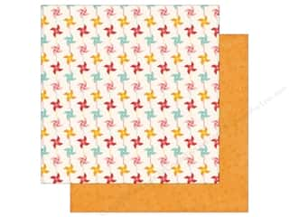 Clearance: Echo Park 12 x 12 in. Paper Happy Summer Collection Pinwheels (25 sheets)