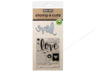 die cutting machines: Hero Arts Stamp & Cuts Love