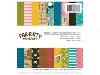 Imaginisce 6 x 6 in. Paper Pad Party Me Hearty