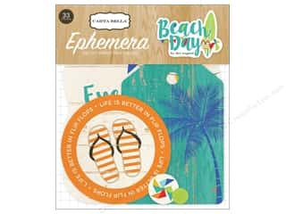 Carta Bella Ephemera Beach Day