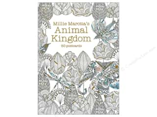 Lark Animal Kingdom Coloring Postcards