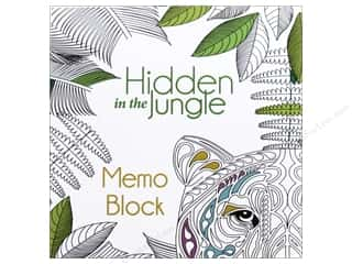 books & patterns: Lark Hidden in the Jungle Coloring Memo Block