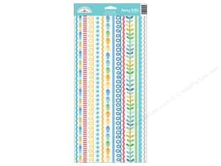 Border Stickers / Corner Stickers: Doodlebug Collection Anchors Aweigh Sticker Fancy Frills (12 sets)