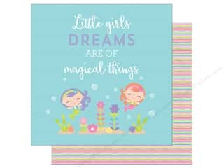 Doodlebug 12 x 12 in. Paper Under The Sea Magical Things (25 sheets)