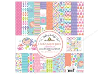 stickers: Doodlebug 12 x 12 in. Paper Pack Under The Sea