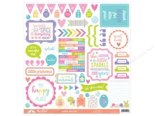 scrapbooking & paper crafts: Doodlebug Sticker Under The Sea This & That (3 sets)