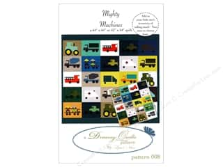 Clearance: Dreamy Quilts Mighty Machines Pattern