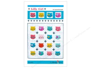 Clearance: Cabbage Rose Kitty Girl Quilt Pattern