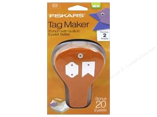 Grommet Attacher / Eyelet Attacher: Fiskars Punch Craft Tag Maker II Banner/Artisan