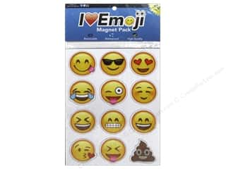 Novelties: Everything Emoji Magnet Pack 24pc Assorted