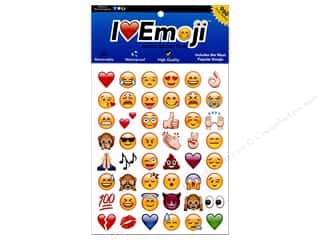 scrapbooking & paper crafts: Everything Emoji Sticker Jumbo 960pc Assorted