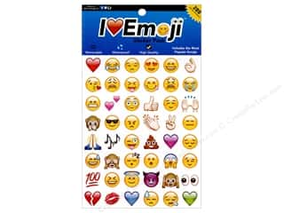 Everything Emoji Sticker Small 288pc Assorted