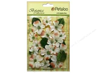 Petaloo Botanica Collection Vintage Velvet Dogwood Ivory