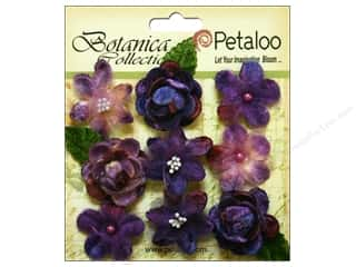 Petaloo Botanica Collection Vintage Velvet Minis Purple Picture