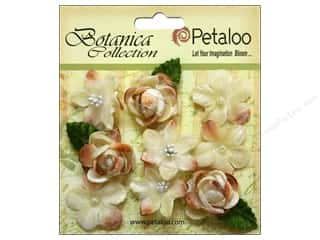 Petaloo Botanica Collection Vintage Velvet Minis Ivory