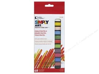 craft & hobbies: Loew Cornell Simply Art Chalk Pastels 48pc