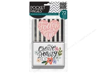 Clearance Me And My Big Ideas Envelopes: Me&My Big Ideas Pocket Pages Cards Fresh Floral