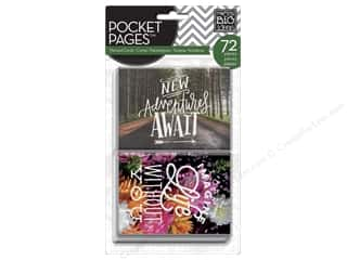 scrapbooking & paper crafts: Me&My Big Ideas Pocket Pages Cards Picture Quote