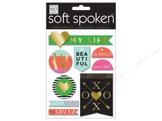 Me & My Big Ideas Soft Spoken Stickers Big City Bright Lights