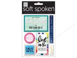 Me & My Big Ideas Soft Spoken Stickers If You Dream