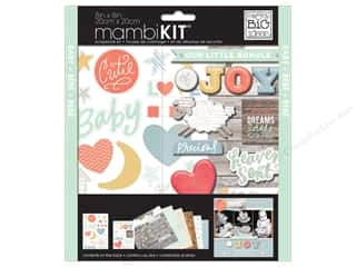 "Holiday Gift Ideas Sale Simplicity Kits: Me&My Big Ideas Kit Scrapbook 8""x 8"" Brand New"