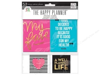 Me&My Big Ideas Create 365 Happy Planner Pocket Cards Smile