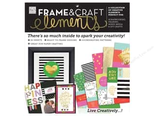 scrapbooking & paper crafts: Me & My Big Ideas Sheets Cardstock Pad 12 x 12 in. Frame & Craft Big City Brights