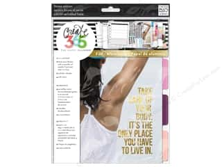 Me : Me&My Big Ideas Create 365 Happy Planner Extension Fitness