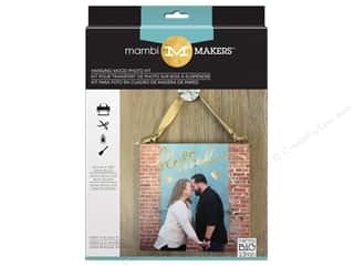 projects & kits: Me&My Big Ideas Kits Photo Medium Hanging Wood