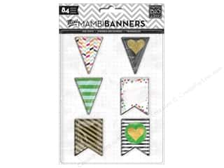 die cuts: Me&My Big Ideas Die Cut Paper Big City Brights Banners