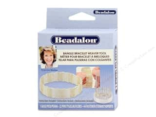 beading & jewelry making supplies: Beadalon Bangle Bracelet Weaver Tool