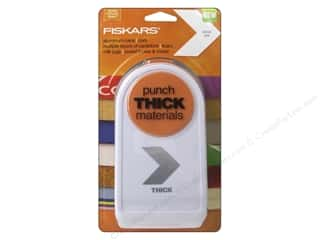 Punches: Fiskars Thick Materials Punch  2 in. Chevron