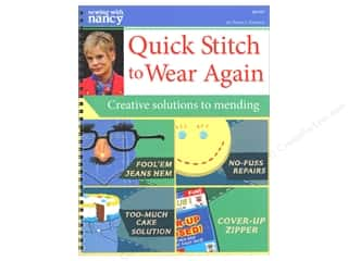 Sewing Construction: Sewing With Nancy Quick Stitch To Wear Again Book