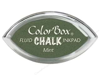 ink pad: ColorBox Fluid Chalk Ink Pad Cat's Eye Mint