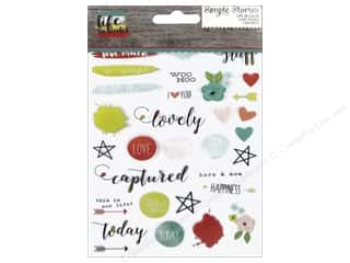 Simple Stories: Simple Stories Collection Life In Color Sticker Clear