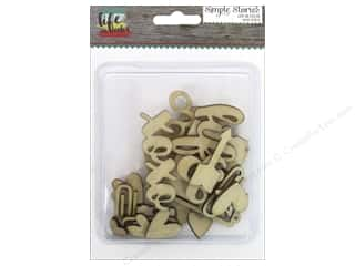Weekly Specials Scrapbooking Kits: Simple Stories Collection Life In Color Wood Veneer
