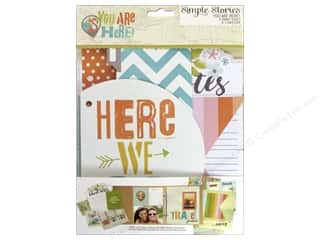 Simple Stories: Simple Stories Collection You Are Here Snap Journal Pages & Envelope