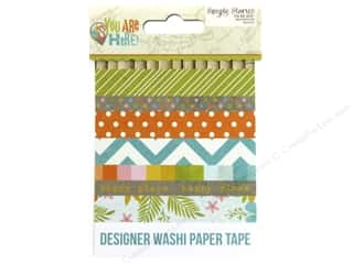 Simple Stories: Simple Stories Collection You Are Here Washi Paper Tape