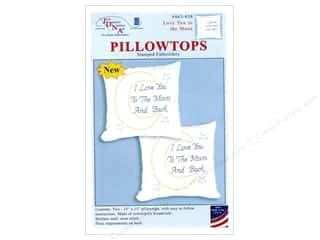 yarn & needlework: Jack Dempsey Pillowtop Love You To The Moon White
